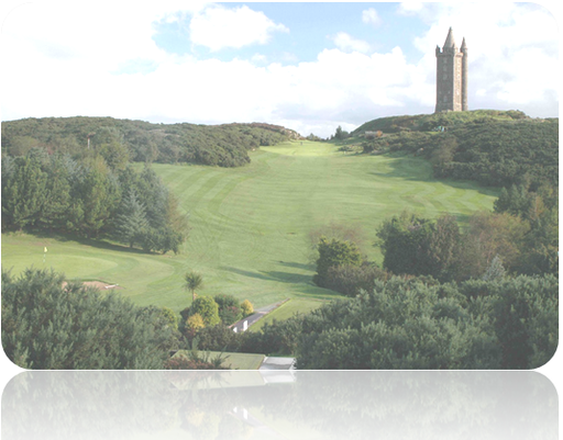 Scrabo Golf Club Hole 1 The Giants Chair
