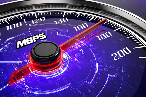 Snelheidsmeter Internetsnelheid