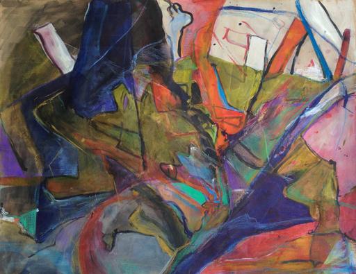 Untitled, Mixed Media, 80x100cm, 2014