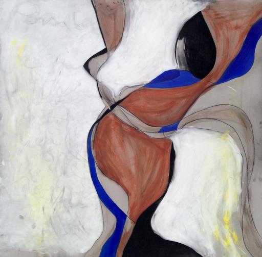 'Possible', Acryl und Pastellkreide, 90x90-120cm, 2-teilig, 2011