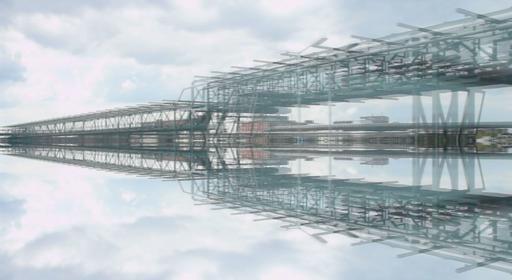 """Filmstill """"Concerto for Infrastructure"""", Gilles Delalex, 2008"""