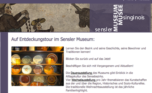 Dialekt - Museums-Installation-Dauerausstellung