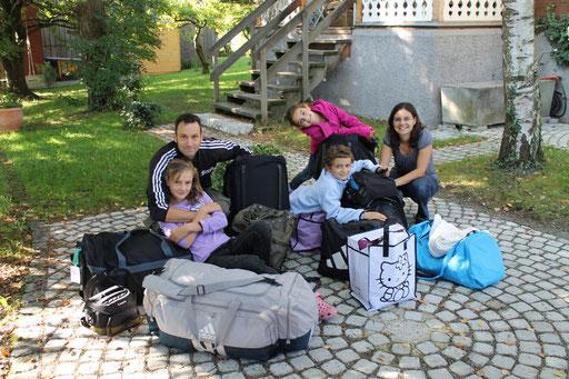 Wir, vor unserer ersten Reise nach Kabokweni, September 2011