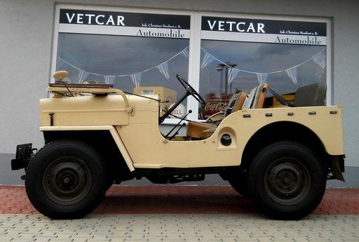 Jeep Willy´s Overland Typ:CJ3B Baujahr 1963 mit H-Zulassung