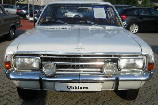 Opel Rekord C Coupé  EZ: 03/1969 mit Oldtimer H-Zulassung