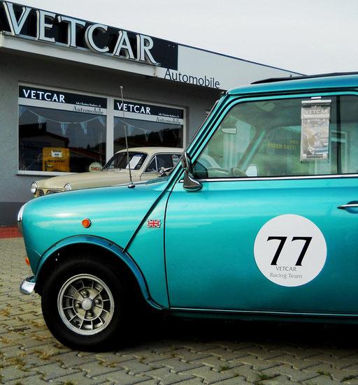 """Mini Cooper """"S"""" Bj. 1977 sehr aufwendig restauriert, rostfrei. TÜV H-Zulassung"""