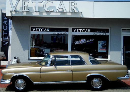 Mercedes-Benz 300SE Coupé EZ 1965 mit  Luftederung  Exportausführung: Schweiz