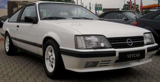 Opel Monza 3,0i GSE Coupé 180PS EZ:1983 mit 07/H-Zulassung