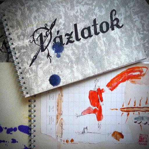 Vazlatok, mein Skizzenbuch, Hans Schubert 2012