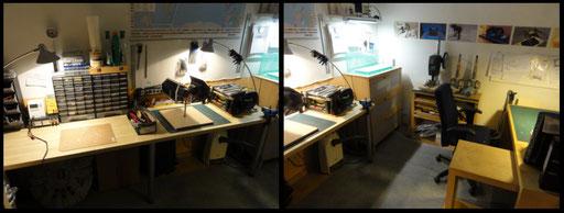 Ein Teil der Werkstatt