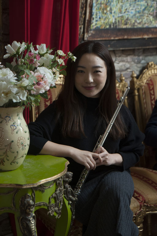 Wan Cheng, Flöte. Trio Concertini