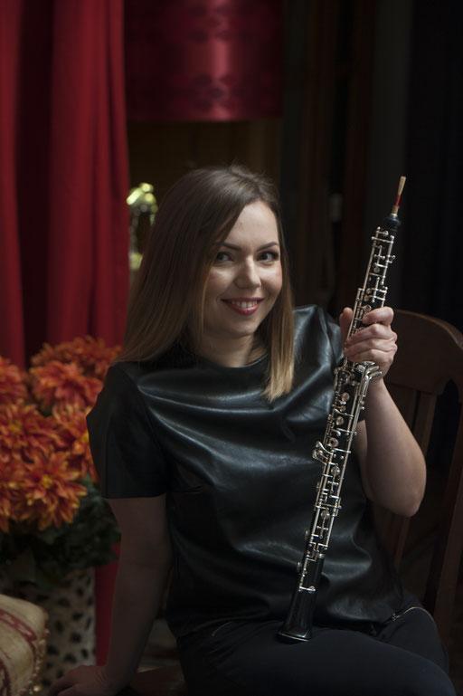 Anna Shuliakovska, Oboe. Trio Concertini