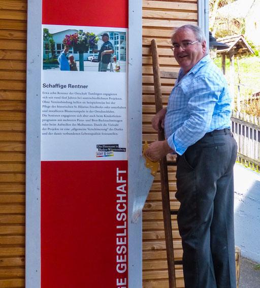 """3. Preis beim Landeswettbewerb """"Echt Gut - das Ehrenamt in Baden-Württemberg""""."""