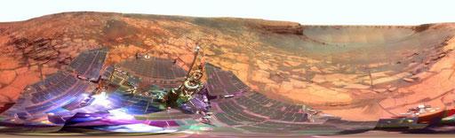 Photographie du sol de Mars par la NASA