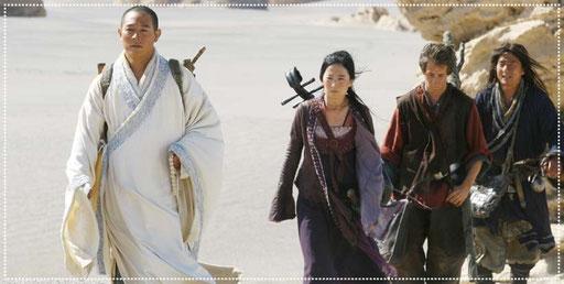El Monje Silencioso, Gorrión, Jason y Lu Yan
