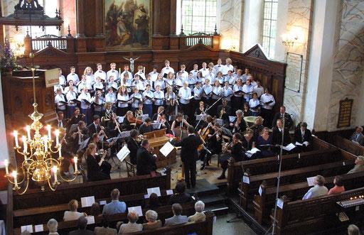 Konzert in der Schelfkirche St. Nikolai, Schwerin (Foto: Angelika Lindenbeck)