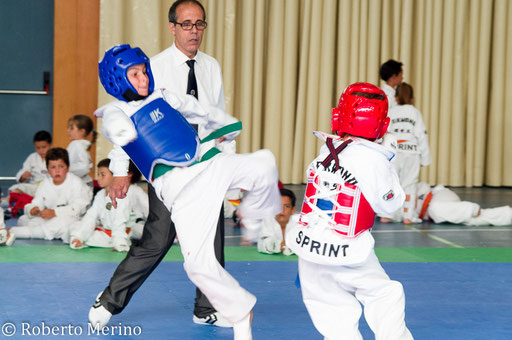 Galería imágenes exhibición Taekwondo Gimnasio sprint