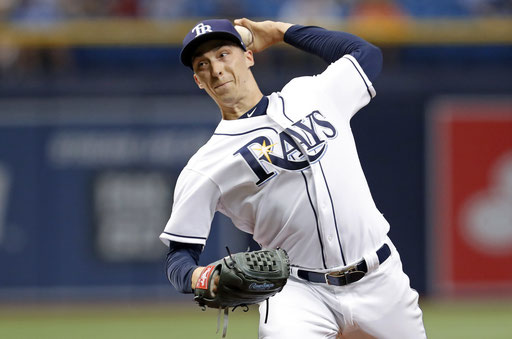 Blake Snell (Foto Mike Carlson, The Associated Press)