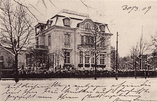 Postkarte 30.3. 1909