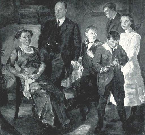 Max Beckmann: Die Familie Henry B. Simms 1913