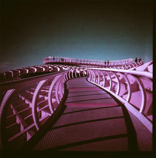 Metropol Parasol 1 & purple film