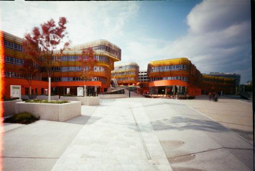 WU Campus Wien Arch Peter Cook
