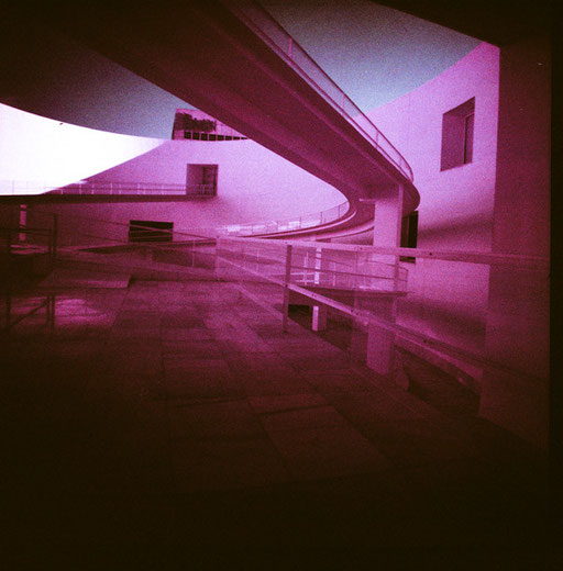 Museum & purple film