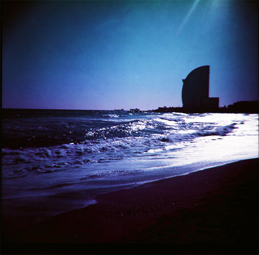 Barcelona  3 & purple film