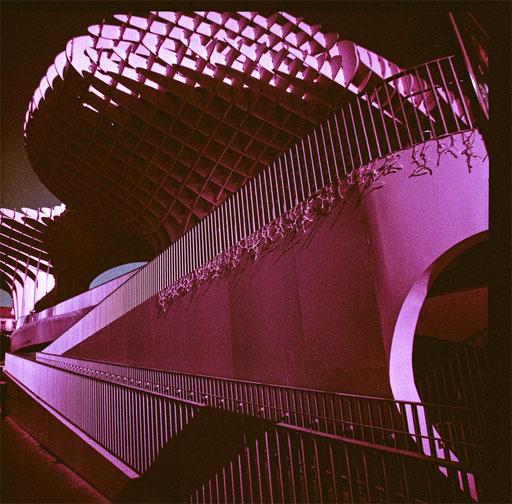 Metropol Parasol  2& purple film