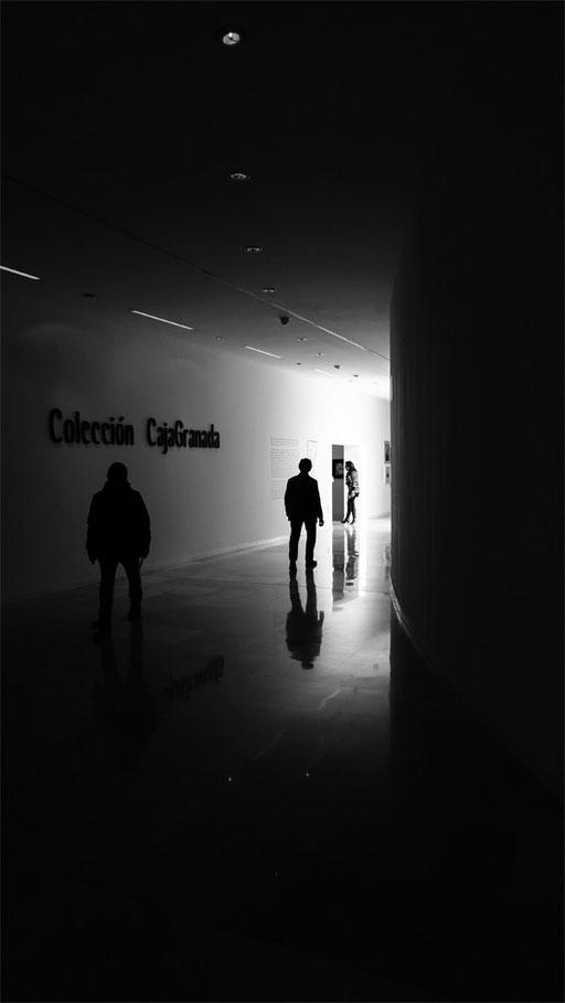 Inside Museum of memory Granada