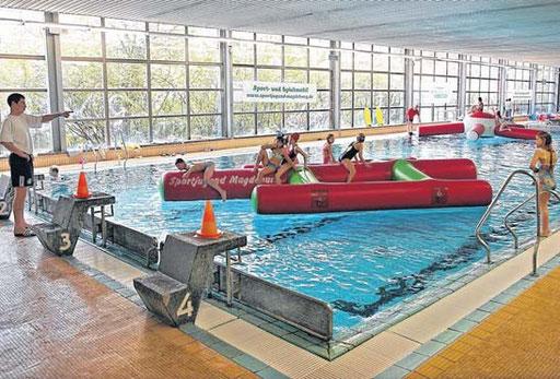 Lange mussten Schwimmfreunde in Nord darauf warten: Am 1. September öffnet die Schwimmhalle Nord nach erfolgter Sanierung. Zur Feier des Tages wird kostenlos gebadet.