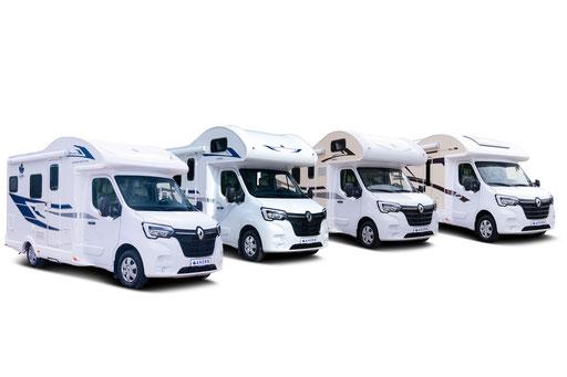 Wohnmobil kostengünstig zu mieten für bis zu 5 Personen