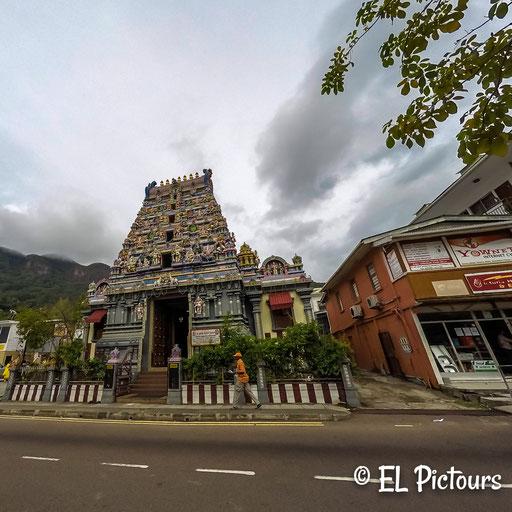 Hindu Tempel, Victoria Mahe, Seychellen