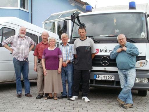 Hilfe, die ankommt mit den Leuten vom Auslandsdienst der Malteser (Petersberg, Juni 2012)