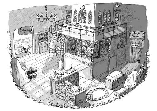 illustration Ilha Melquisedech Vera de Vilhena