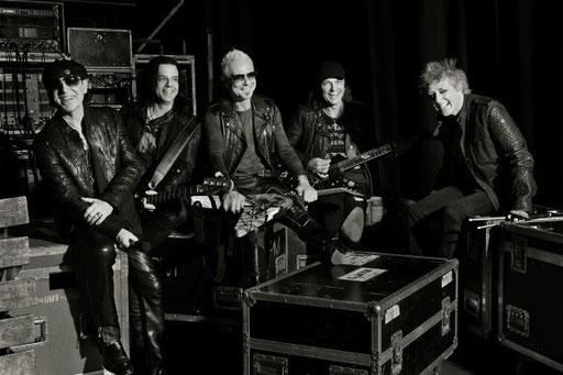 Die Scorpions gehen zum 50. wieder auf große Jubiläumstour. Foto: Marc Theis