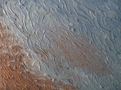 LA SECCA - 2011 olio su tela 13 x 18