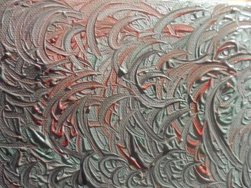 CONTAMINAZIONI - 2011 olio su tela 13 x 18