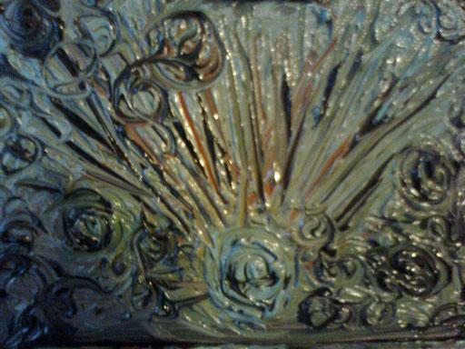 CENTRO DI GRAVITA' PERMANENTE - 2011 olio su tela 13 x 18
