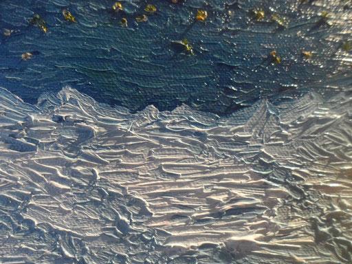 CIRCOLO POLARE ARTICO - 2011 olio su tela 13 x 18