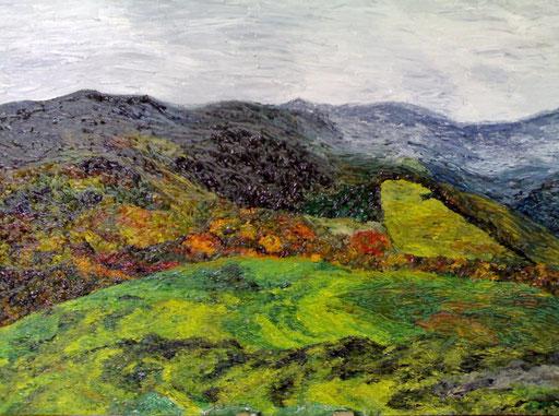 RUGGINE - 2008 olio su tela 35 x 45