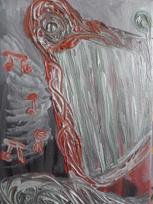 L'ARPA - 2011 olio su tela 13 x 18