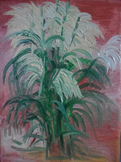 VESSILLI - 2011 olio su tela 13 x 18
