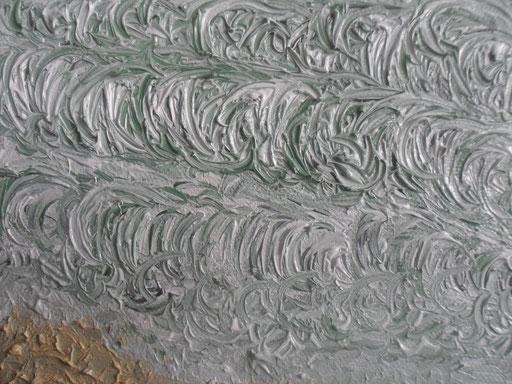 FORZA NOVE - 2011 olio su tela 13 x 18