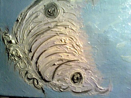 LEGGIADRIA - 2011 olio su tela 13 x 18
