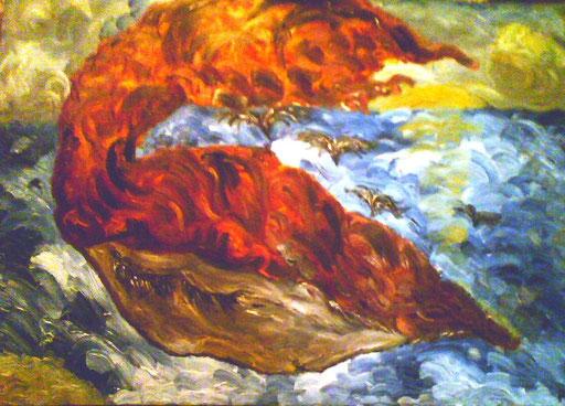PORTINO - olio su tela 2010 45 x 75