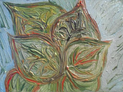 POTHUS -- 2012 olio su tela 13 x 18