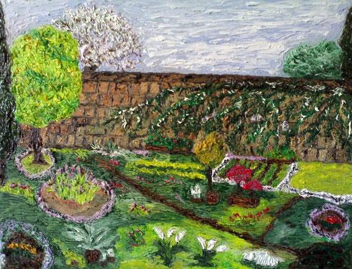 IL GIARDINO SEGRETO - 2008 olio su tela 35 x 45