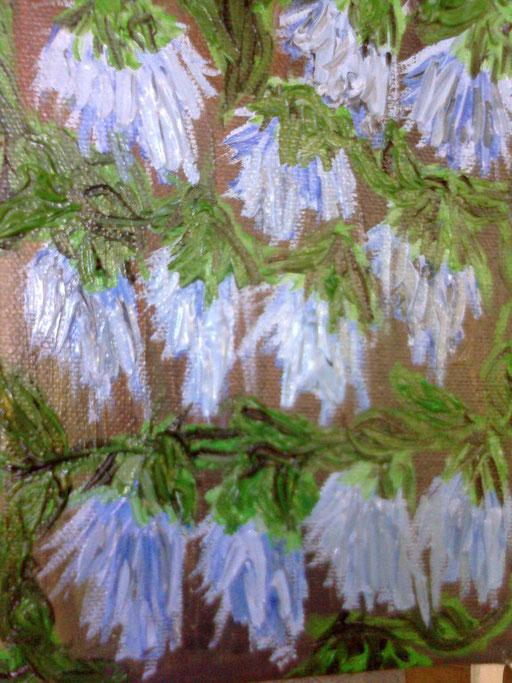 FIORDALISI - 2011 olio su tela 13 x 18