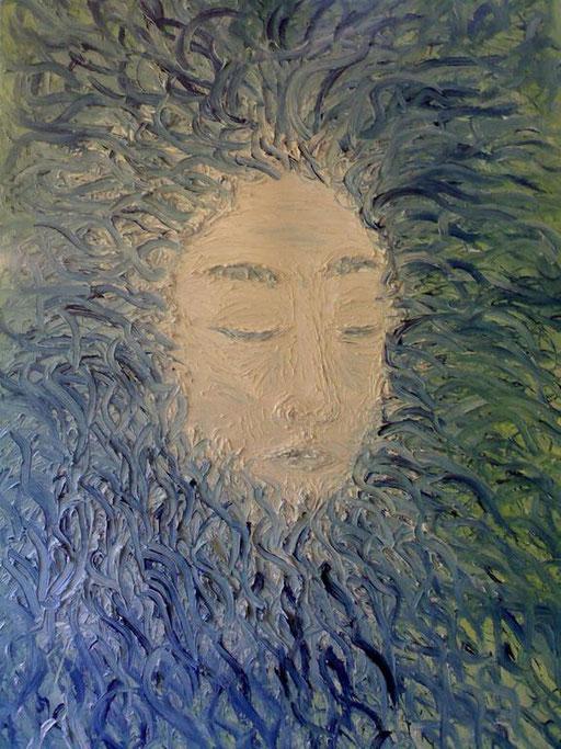 LA SCELTA - 2011 olio su tela 45 x 75